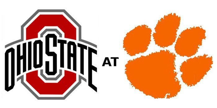 Clemson takes on Ohio St. in the Fiesta Bowl