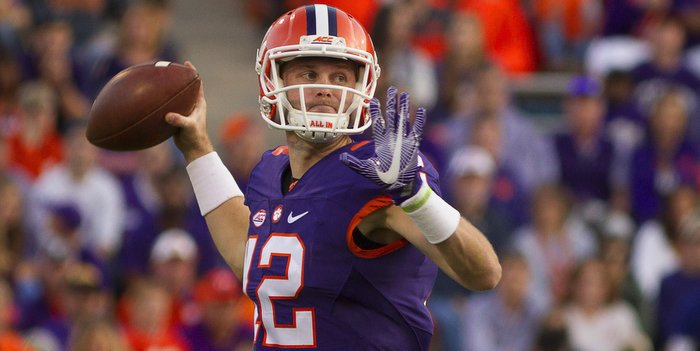Schuessler delivers in the third quarter of Saturday's win (Photo by Joshua Kelly, USAT)