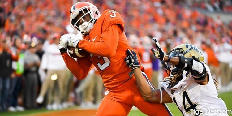Clemson drops in latest Coaches Poll