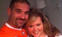 A father lost, a gift given and an orange-clad guardian angel
