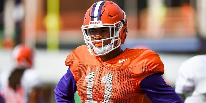 The Clemson coaching staff recruited Isaiah Simmons late in the process