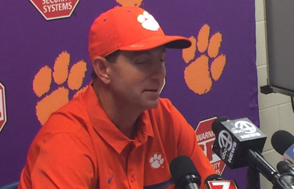 Dabo Swinney on not kicking the FG at end of game