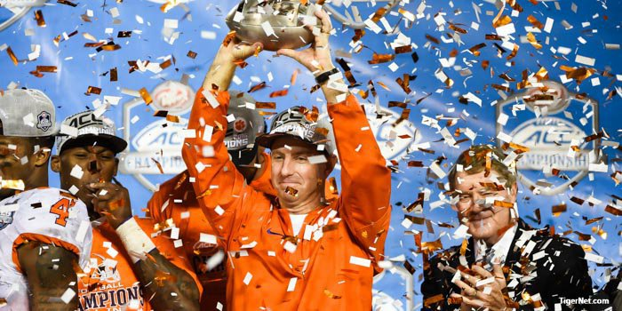 Swinney and Tigers will probably be one of the four teams in the playoff