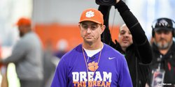 Friday update: Swinney talks salaries, first day of pads
