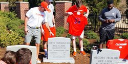 Swinney talks tombstones, injuries and spring break