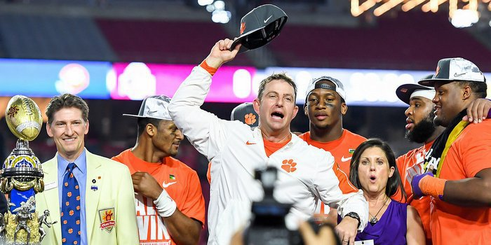 Swinney has the Tigers poised to win it all