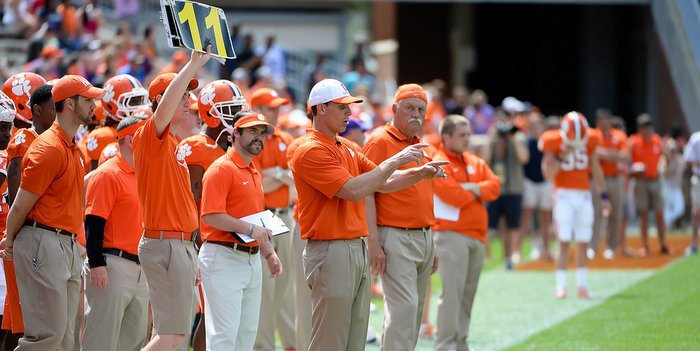 Venables knows that Wake Forest will likely add the shovel pass to their gameplan