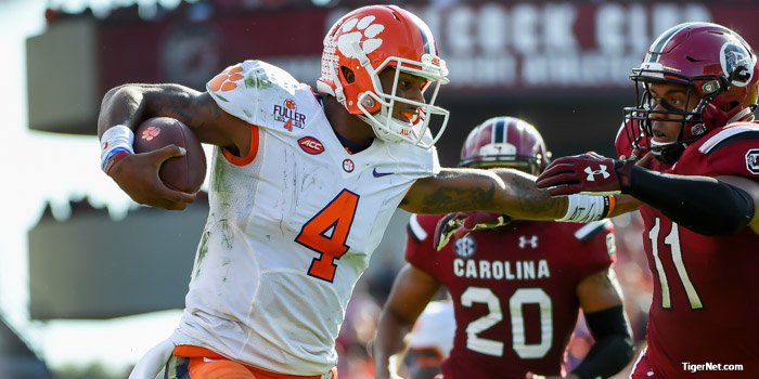 2016 Clemson football schedule released