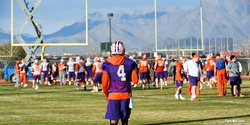 Clemson practice report for Saturday