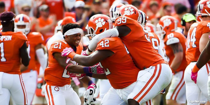 Christian Wilkins and Clemson defeated NC State last season