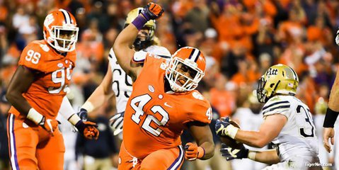Clemson DT named quarterfinalist for Lott Impact Award