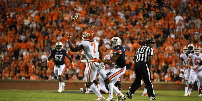 Mike Williams had a stellar night in his first game in a year