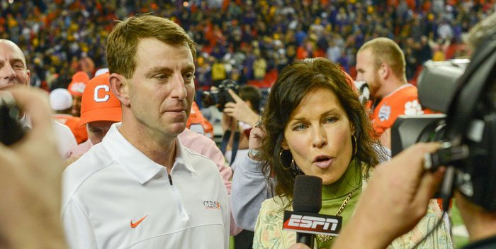 Edwards says Swinney has the program headed in the right direction
