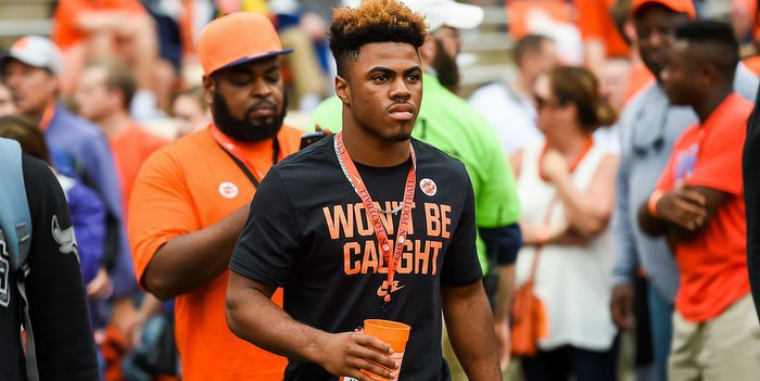 Williams visited Clemson this past weekend