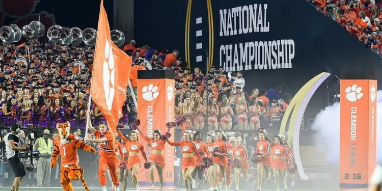 Clemson ranked in Top 10 of ESPN's 2017 team recruiting ranking