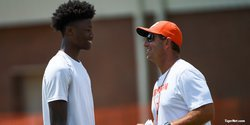 Fourth of July fireworks:  Tee Higgins ready to win championships at Clemson
