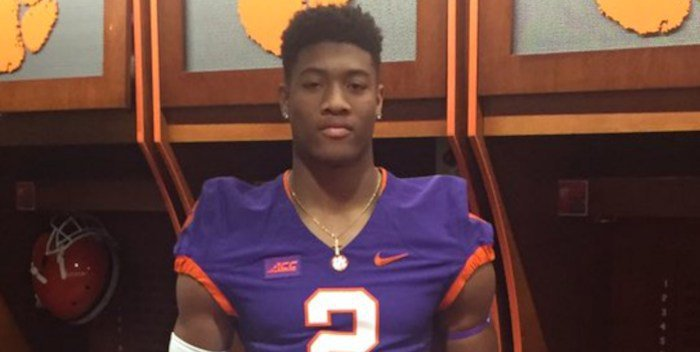According to ESPN, Clemson has commits from the top two players in Kansas - Isaiah Simmons and Xavier Kelly.