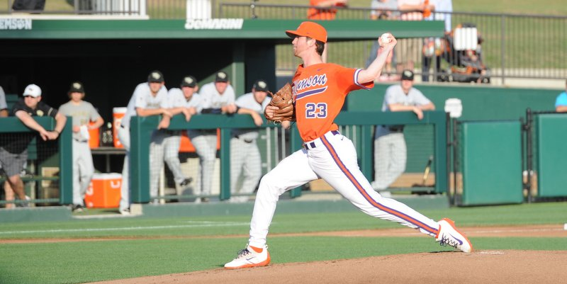 Clemson LHP drafted in the fourth round