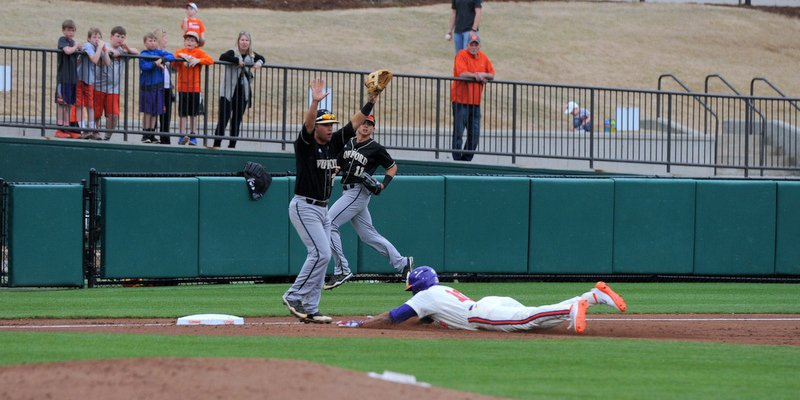 Tigers score early and late in routing Terriers