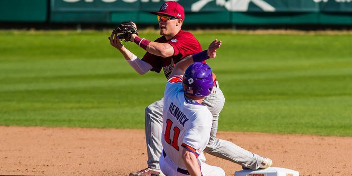 Clemson takes on South Carolina in a three-game series this weekend