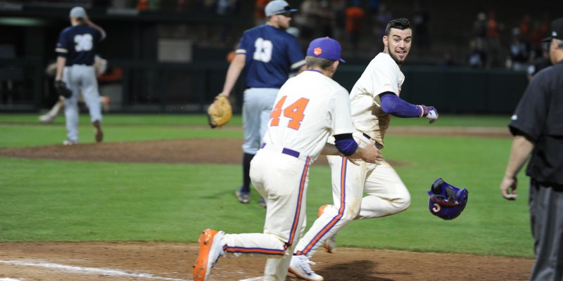 Andrew Cox laces walk-off single as Tigers defeat Charleston Southern