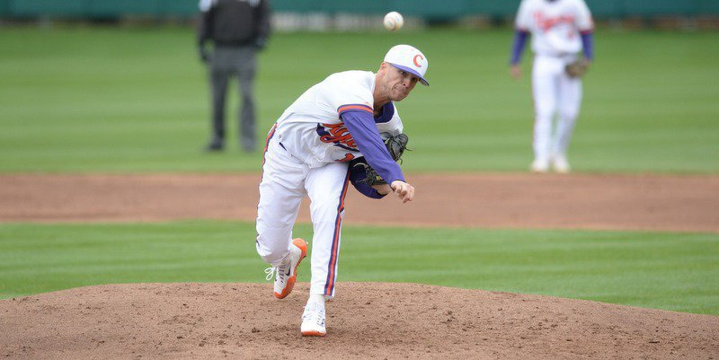 Eubanks pitched seven scoreless innings (Photo by David Grooms)