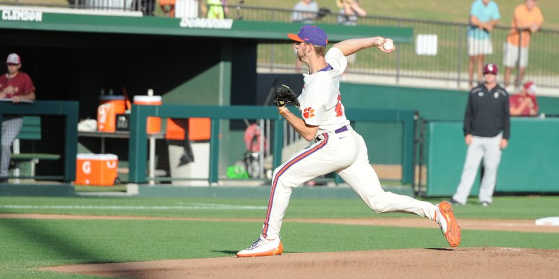 Jackson pitched seven strong innings in earning the win
