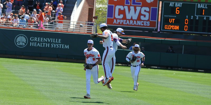 WATCH: Monte Lee, players on sweep of Virginia Tech