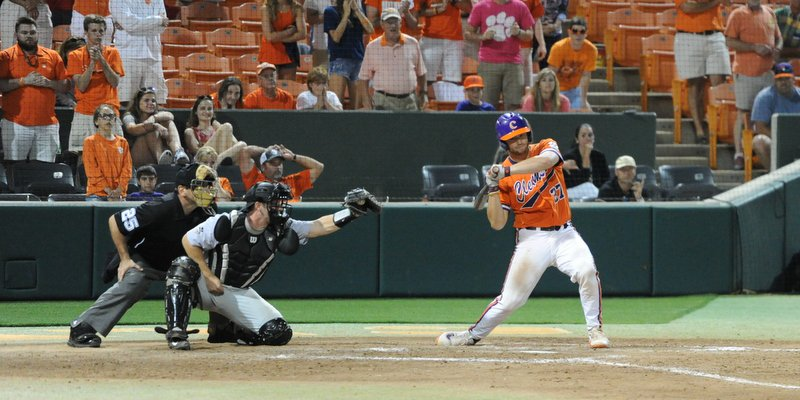 Williams watches ball four as the TIgers win the series opener