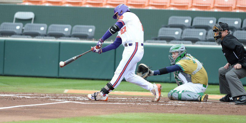 Sweep of the Irish: Eubanks, Tigers cruise past Notre Dame