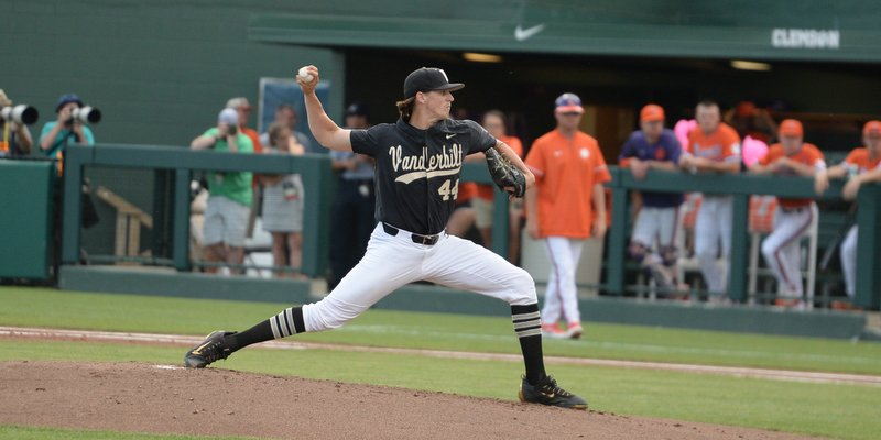 Wright pitched a solid seven innings for Vanderbilt