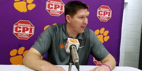 Brownell talks to the media Thursday