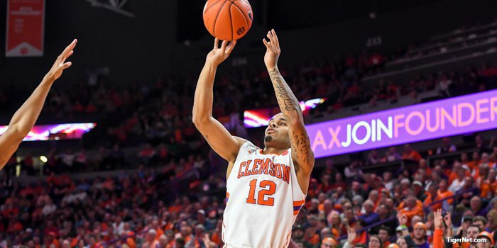 Holmes had 18 points for the Tigers