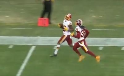 WATCH: Breeland with longest NFL interception by former Tiger