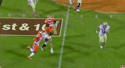 WATCH: Van Smith's crucial interception vs. FSU