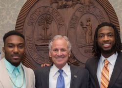 Williams, Tankersley honored by SC Governor
