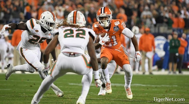 Ray Ray McCloud notched a couple solo tackles in addition to over 100 all-purpose yards against Miami.