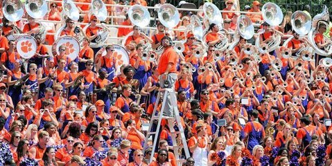 Tiger Band will be benched during halftime of ACC Championship