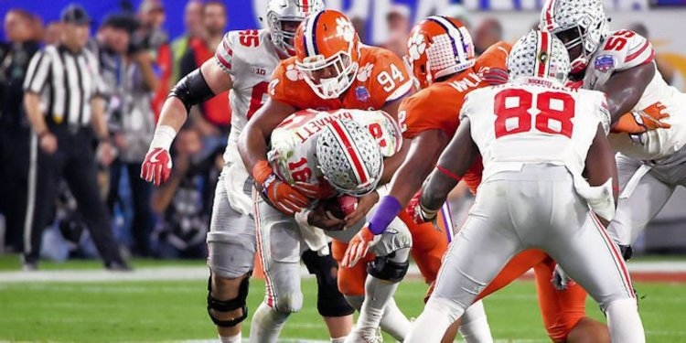 Clemson was dominant against Ohio State