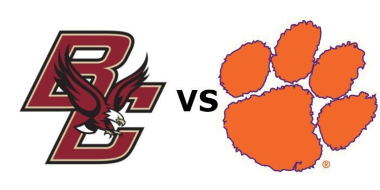 Clemson takes on Boston College at 7:30 pm Saturday.