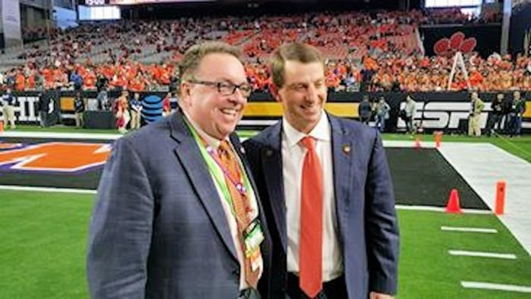 Brown and Swinney together