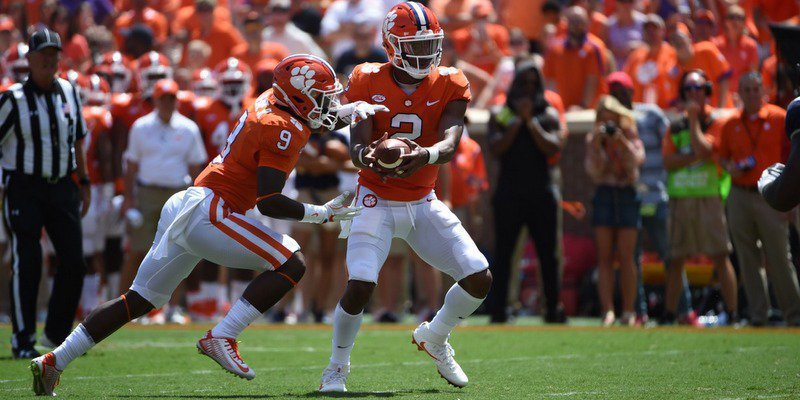 Bryant had 77 yards rushing on the afternoon