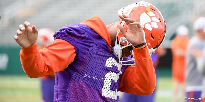 Kelly Bryant threw four touchdown passes Wednesday