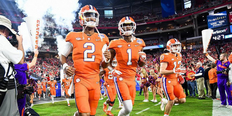 Kelly Bryant (2) hopes to replace Deshaun Watson as the starter