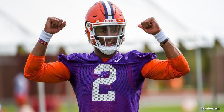Kelly Bryant hopes to have a strong scrimmage