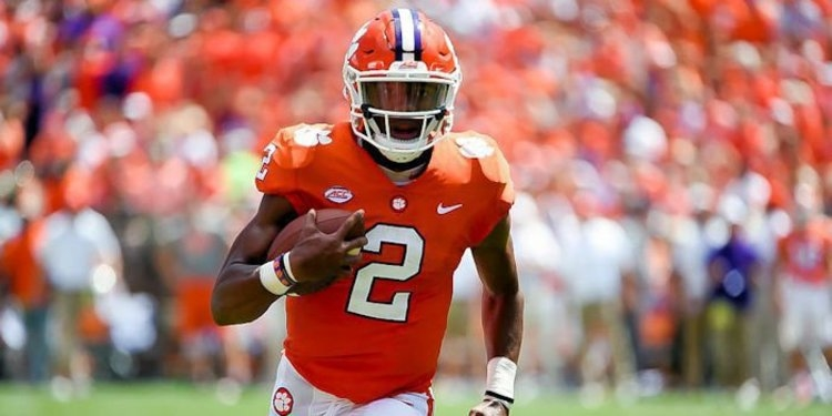 Bryant totaled a Clemson-high for total offensive yards in three quarters of action.