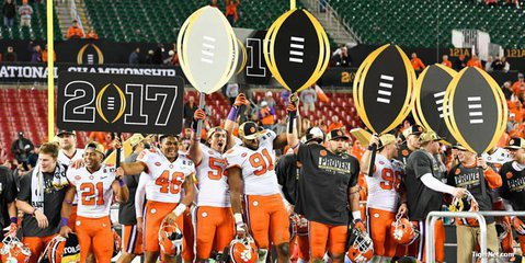 Clemson is a place to win championships and get a valuable degree