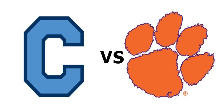 Clemson and The Citadel face off on Military Appreciation Day