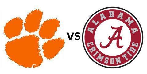 Clemson-Alabama national championship depth charts