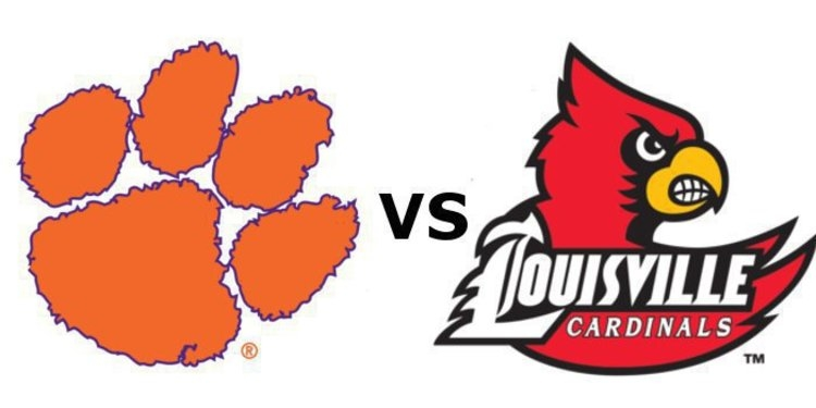 Clemson takes on Louisville at noon Saturday.